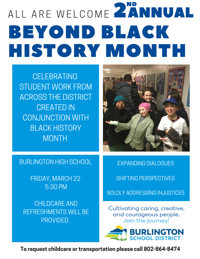 2nd Annual Beyond Black History Month